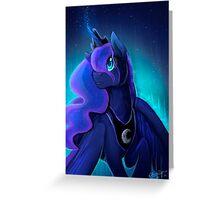 I can shine too -Princess Luna Greeting Card