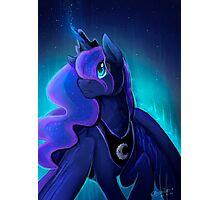 I can shine too -Princess Luna Photographic Print