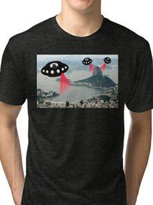 Dia da Independência, Rio, Brazil.  Tri-blend T-Shirt