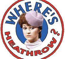 Where's heathrow? by Charleysthings