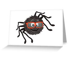 Smart Spider Greeting Card