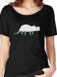 Ghost Triceratops Women's Relaxed Fit T-Shirt