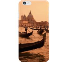 Gondolas at Sunset iPhone Case/Skin