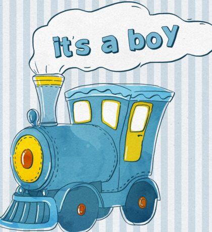 It'a Boy Sticker