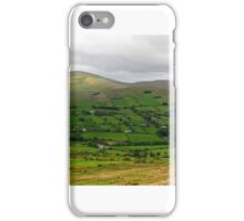 Panorama - Sperrin Mountains, Ireland iPhone Case/Skin