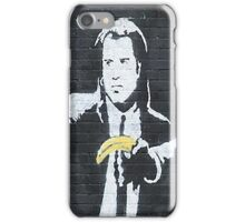 Banksy Pulp Fiction iPhone Case/Skin