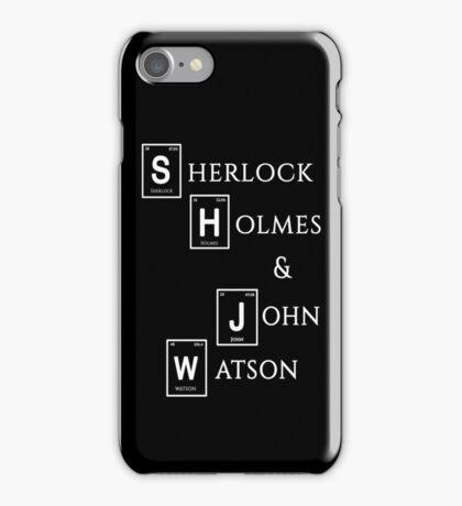 Sherlock Holmes & John Watson iPhone Case/Skin
