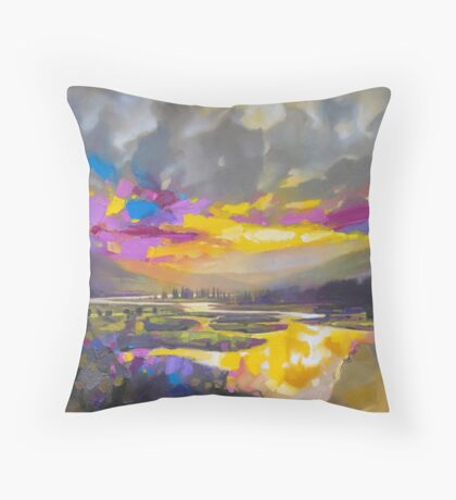 Badenoch Optimism Throw Pillow