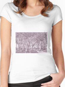 Forest Women's Fitted Scoop T-Shirt