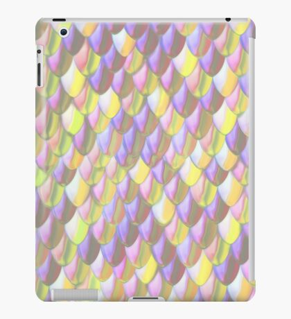 Purpellow Dragon Scale iPad Case/Skin