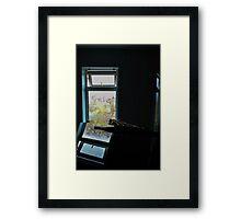 Jagged little reflection Framed Print