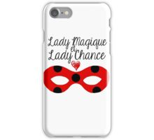 Miraculous Ladybug - Lady Magic and Lady Luck (white ver.) iPhone Case/Skin