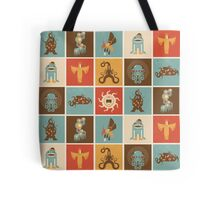 The Lovecraftian Squares Tote Bag