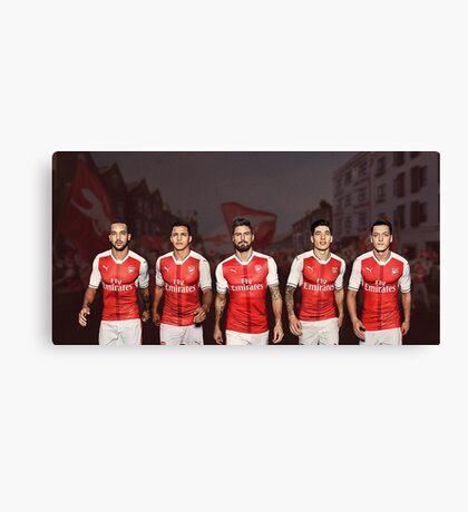 arsenal team Canvas Print