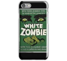 White Zombie Vintage Movie Poster  iPhone Case/Skin