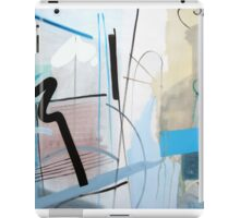 Abstract #6 iPad Case/Skin