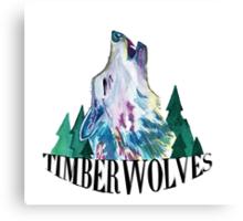 Minnesota Timberwolves design Canvas Print