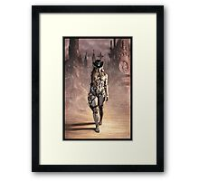 Steampunk Painting 004 Framed Print