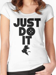 Just do it Dragonball Women's Fitted Scoop T-Shirt
