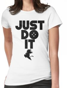 Just do it Dragonball Womens Fitted T-Shirt