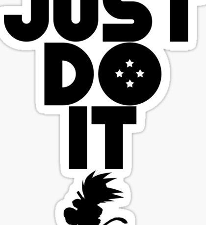 Just do it Dragonball Sticker