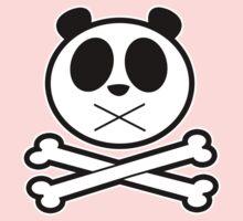 Panda Cross Bone 2 Baby Tee