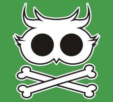 Owl Cross Bone Kids Clothes