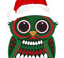 Christmas Owl by Adamzworld