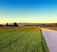 Autumn afternoon in the countryside | landscape photography by Patrick Jobst