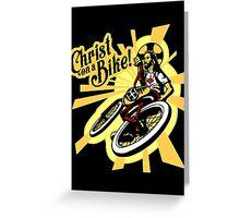 Christ on a Bike Greeting Card