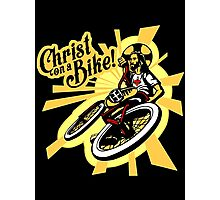 Christ on a Bike Photographic Print
