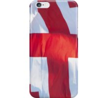 Waving Flag of Georgia From 2014 Winter Olympics iPhone Case/Skin