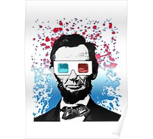 Abraham Lincoln - 3D Poster