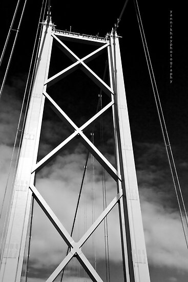 Inverness Bridge Black and White (Inverness, Scotland, UK.) by Yannik Hay