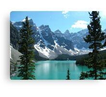 The Rockies - Moraine Lake Canvas Print