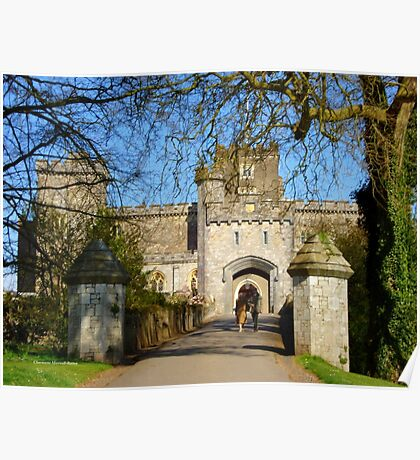 Powderham Castle Poster