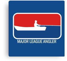 Major league Angler Canvas Print