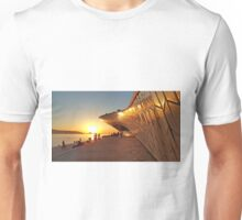 sunset by the river Unisex T-Shirt