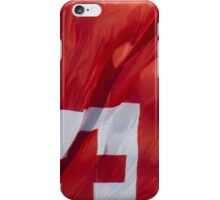 Waving Flag of Tonga From 2014 Winter Olympics iPhone Case/Skin