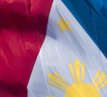 Waving Flag of the Philippines From 2014 Winter Olympics by pjwuebker