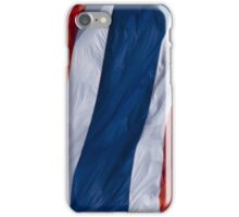 Waving Flag of Thailand From 2014 Winter Olympics iPhone Case/Skin