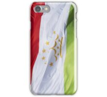 Waving Flag of Tajikistan From 2014 Winter Olympics iPhone Case/Skin