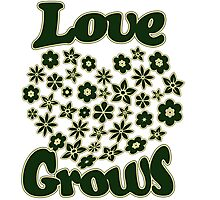 Love grows Photographic Print