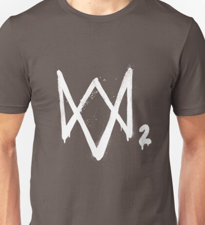 Watch dogs 2 logo Unisex T-Shirt