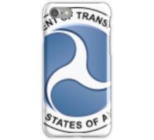 Department of Transportation iPhone Case/Skin