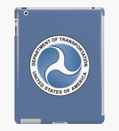 Department of Transportation iPad Case/Skin
