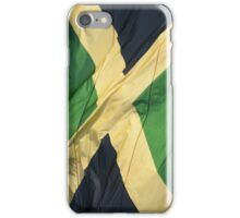 Waving Flag of Jamaica From 2014 Winter Olympics iPhone Case/Skin