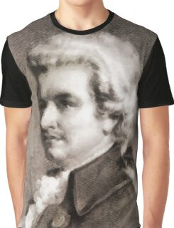 Wolfgang Amadeus Mozart, Composer Graphic T-Shirt