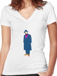 Wilson Wilson Women's Fitted V-Neck T-Shirt