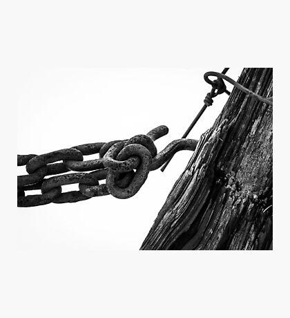 Forgotten Chain Photographic Print